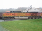 BNSF 5463 Lead Unit on the BNSF Grain Train