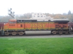 BNSF 4488 Trailing Unit of BNSF Grain Train