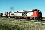 Soo Line 503-A East train 944 Power Variety