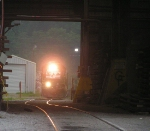 The Emory Gap local (T37) switches the yard behind Bayou Steel.