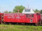 Old Lambert's Point Docks Caboose