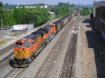 BNSF 5674 On NS 737 Southbound At King Plow