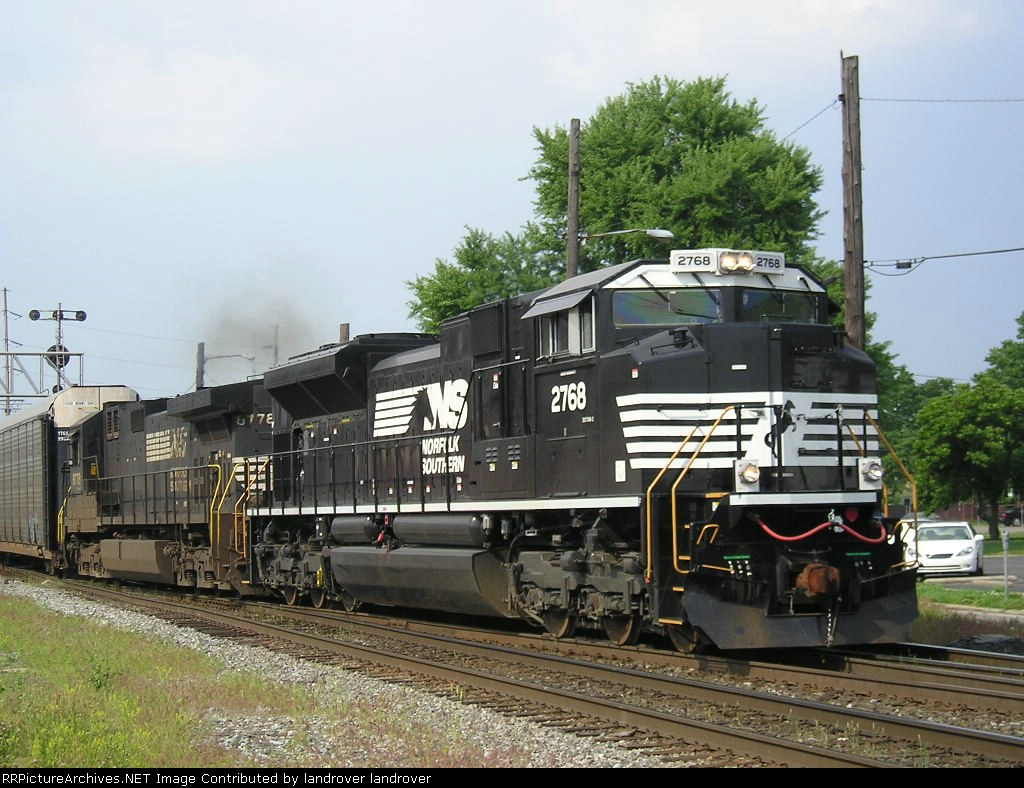 NS 2768 On NS 197 Eastbound