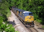 CSXT 5337 On CSX K 587 Southbound On The Branch Line