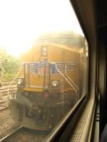 UP 5488 taken from Amtrak train 314.