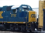 leased CSX power on the NYSW