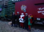 Santa and the US Marines team up for Toy for Tots
