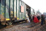 2010 Toys for tots train