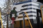 The festive locomotive