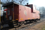 M&E Caboose on the 2010 US Marine Toys for Tots special