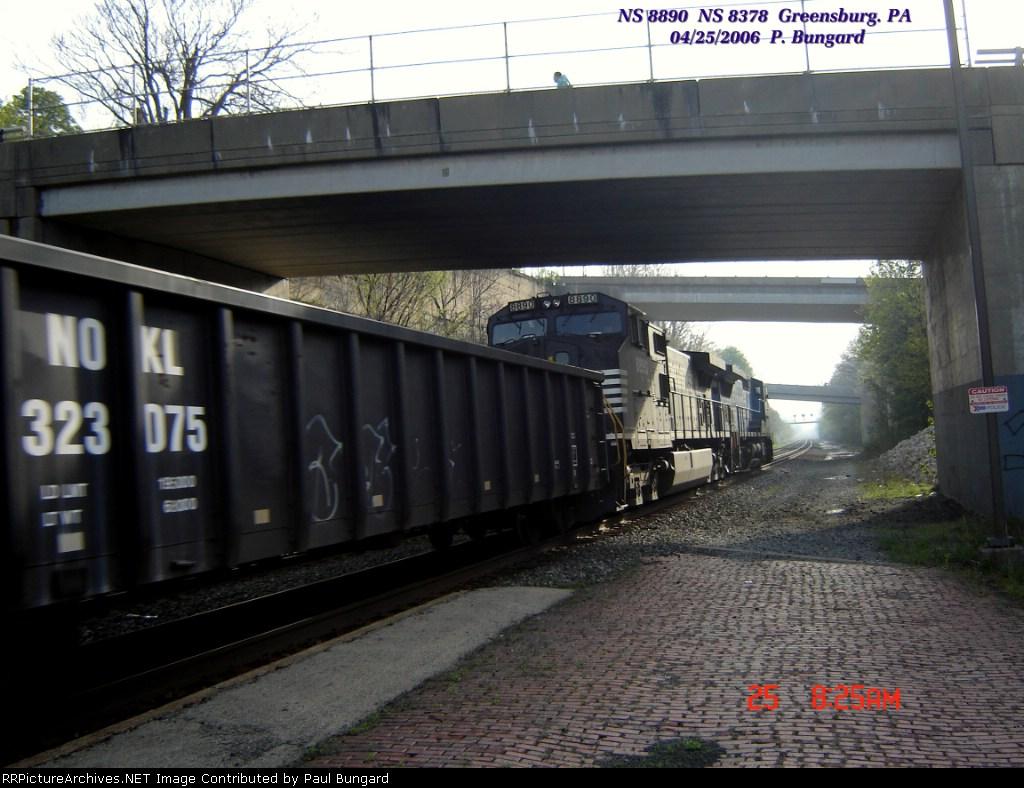NS 8890    C40-9W   NS 8378  C40-9W   Lead Unit    04/25/2006