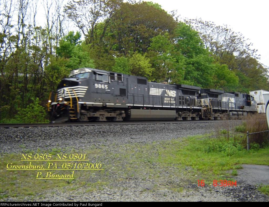 NS 9865   C40-9W    NS 9891   C40-9W    05/16/2006