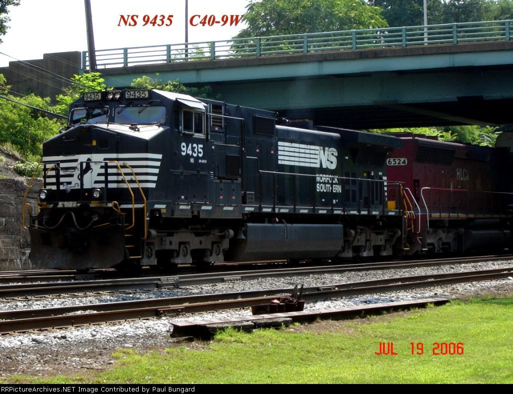 NS 9435  C40-9W   07/19/2006