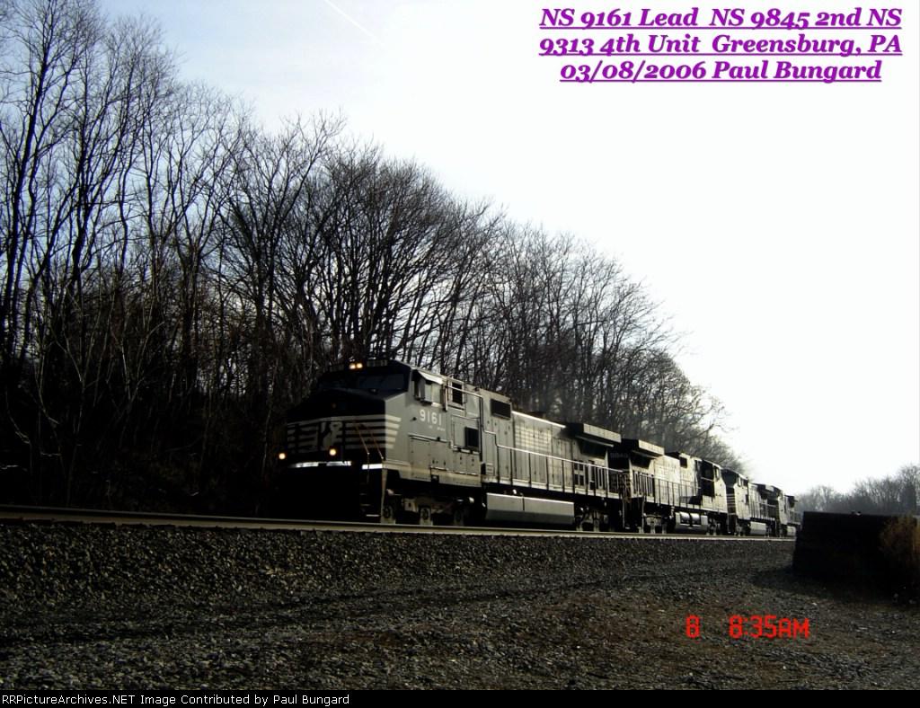 NS 9161    C40-9W      NS 9845    C40-9W       NS 9313    C40-9W       03/08/2006