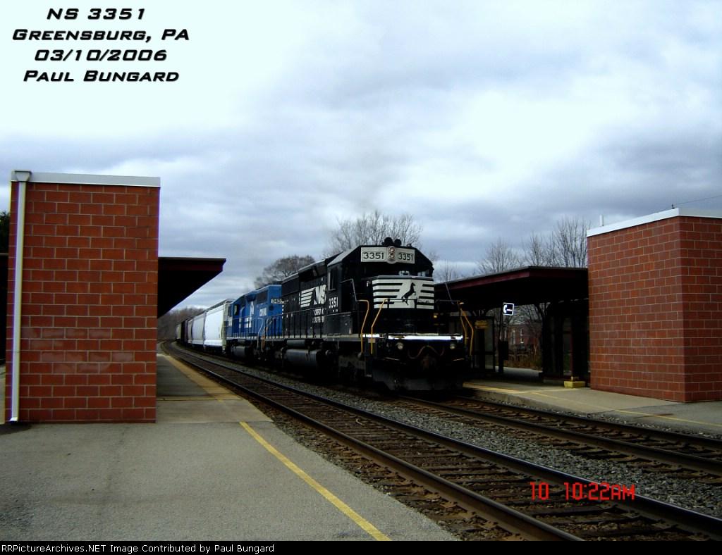 NS 3351    SD40-2    03/10/2006