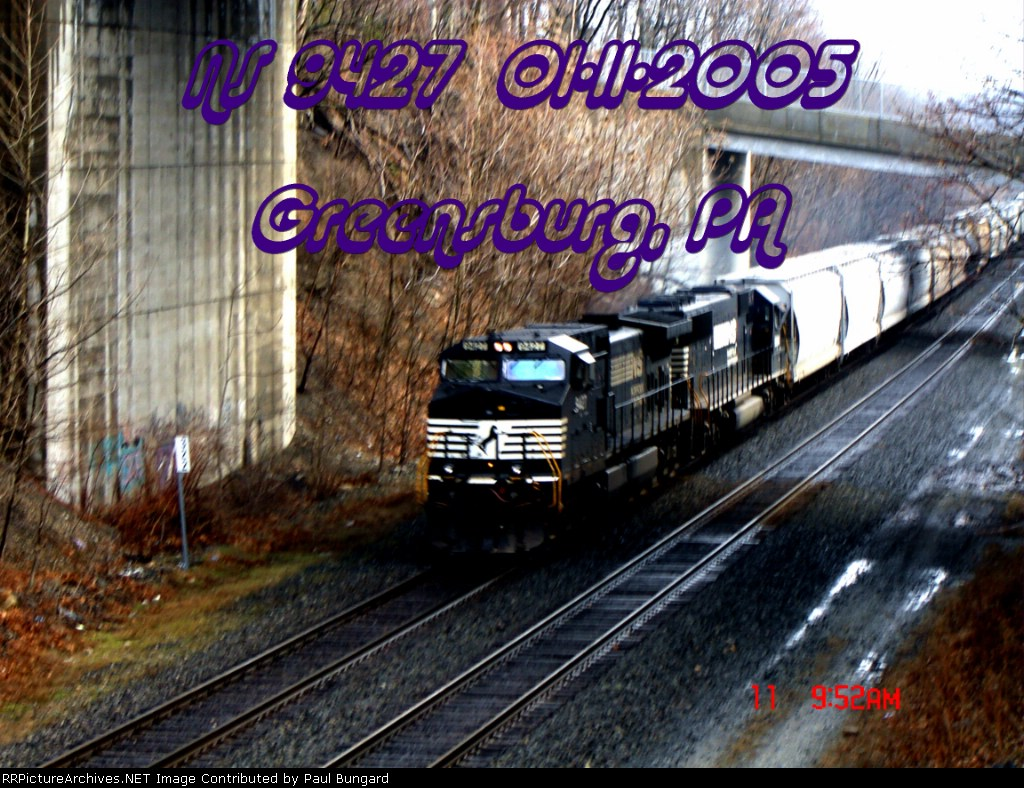 NS 9427    C40-9W       01/11/2005