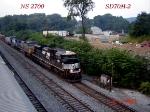 NS 2760    SD70M-2     07/25/2006