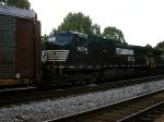 NS 9076   C40-9W      NS 9454     C40-9W     08-23-2005