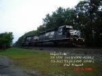 NS 3339 SD40-2    NS 3427  SD40-2 Ex- KCS 606      09/14/2006