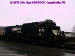 NS 8873    C40-9       KCS 691    SD40-2       11/29/2005