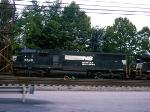 NS 6649   SD60  07/27/2005