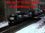 NS 3007    GP40-2     NS 9494    C40-9W        12-22-2005