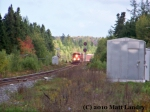 CN 305 at Bronson Settlement, NB