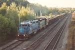 Gravel train departs