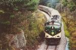 Eastbound tourist train