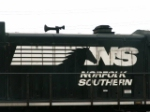 NS 8354's logo and Leslie RS3L horn