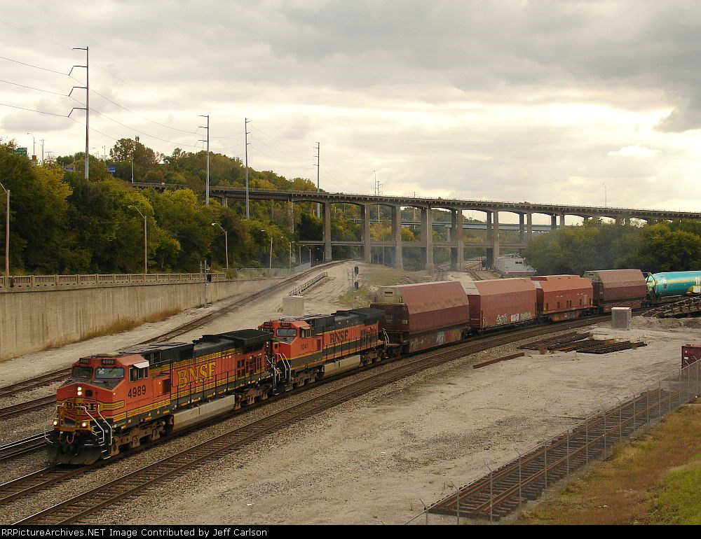 "BNSF with the ""Plane Train"""