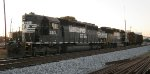 NS Sylacauga local power tied down for weekend in house track.