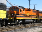 "PNWR2310 ""Monroe"" GP39-2 in BNSF Willbridge Yard"