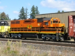 "PNWR2310 ""Monroe"" GP39-2 in PNWR Tigard yard, west end."