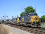 CSXT 500 On CSX K 587 Steel Train Southbound