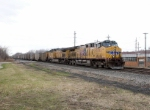Eastbound CSX loaded coal train V771 is lead by UP 5892 & 6813 at Whitney Rd