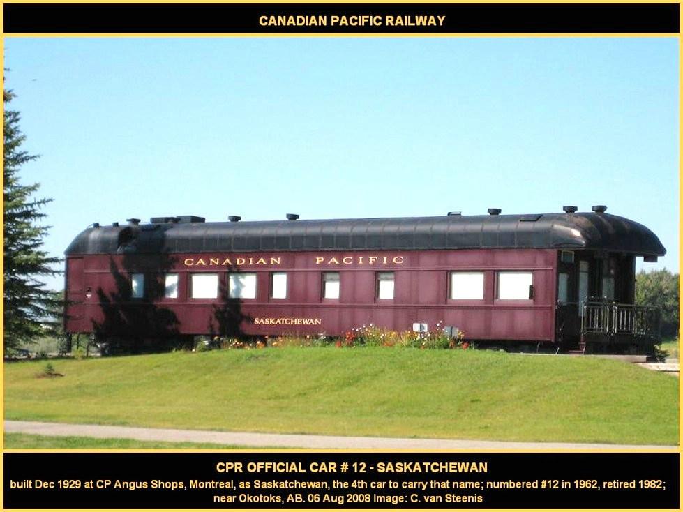 """CP 12 """"Saskatchewan"""""""