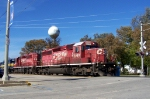 CP 5965 leads an eastbound ethanol train through Ossian