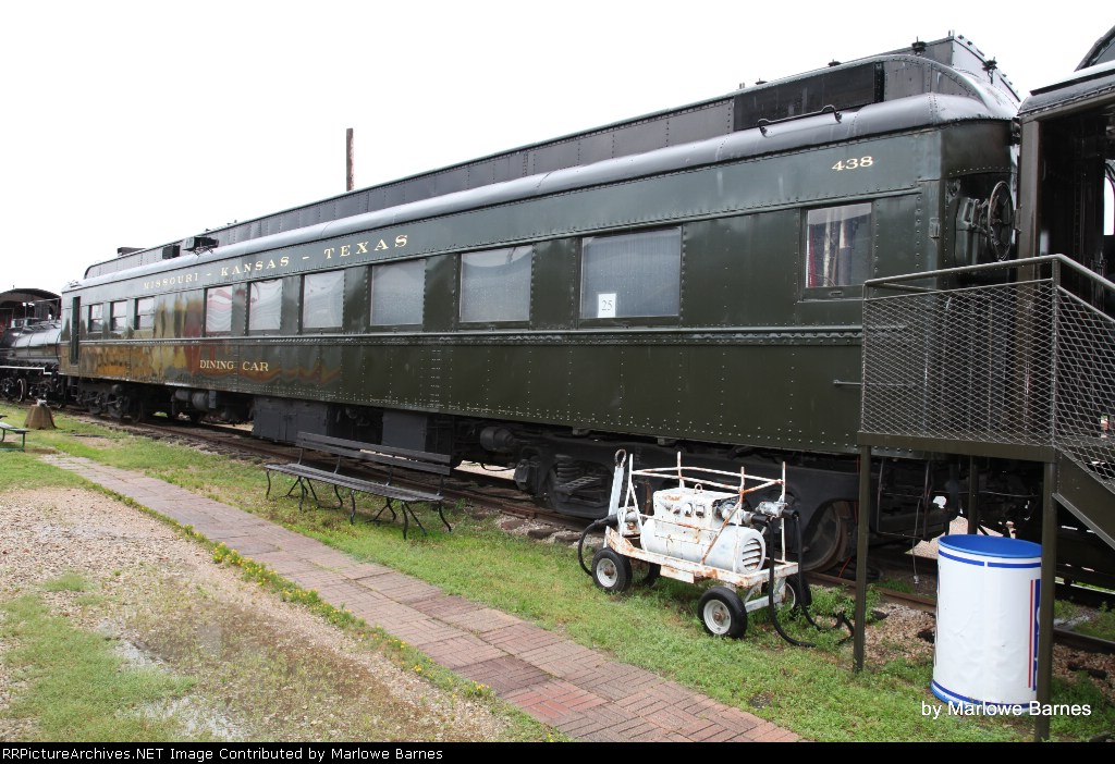 "Missouri - Kansas -Texas ""Katy"" Dining Car No. 438"