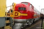 Santa Fe Railway F7A 49 (ex-Canadian National 9167)