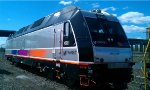 NJT 4511 after being dropped off on the Center Srteet Branch by Conrail job SK-13