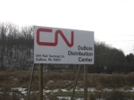 Sign for Canadian National DuBois Distribution Center