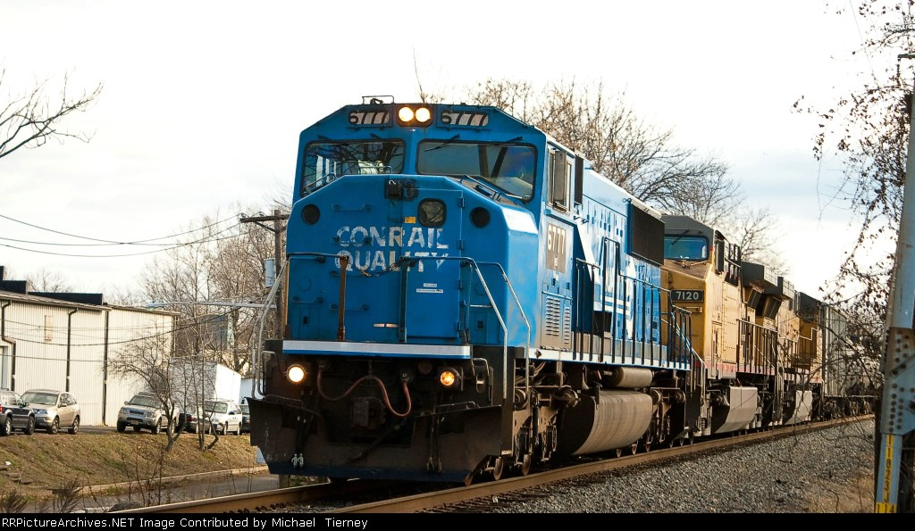 NS 67Q with SD60M 6777 with 2 UPs