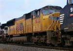 UP SD70M 3822 in NS 213