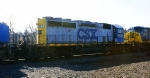 CSX Q409 with a YN1/2 SD40-2 8031. It may be a one of a kind because the long hood is YN1 while the rest is YN2