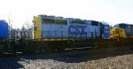 CSX Q409 with a YN1/2 SD40-2 8031. It may be a one of a kind because the long hood is YN1 while the rest is YN2