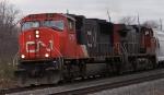 CN 5711 on CSX Q300
