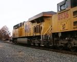 UP AC45CCTE 7918 & SD70ACe 8536 lead NS 213 thru boundbrook