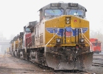 Tied down Union Pacific Power