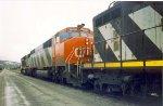 Westbound CN Train